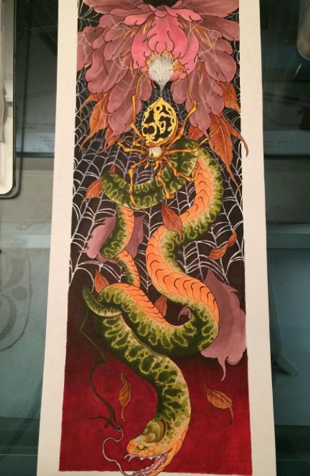 Artwork by tattoo artist Nathan at The Village Ink Tattoo & Piercing Shop Toronto #tattoo #tattoos #thevillageink