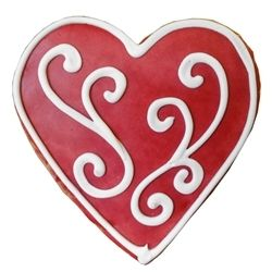 hand decorated valentine cookies stylish decorating ideas