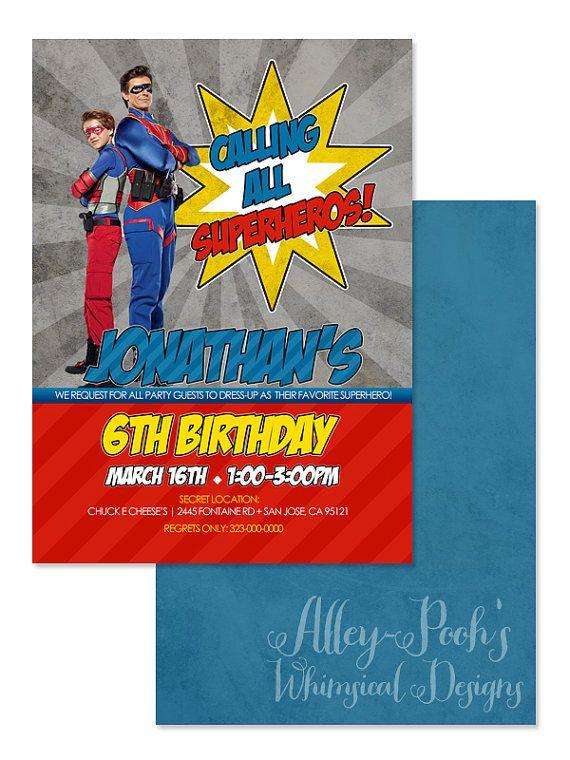 Superhero Party Invite for great invitations design