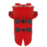 Puppy Angel Duffle Dog Coat in Red £47.99