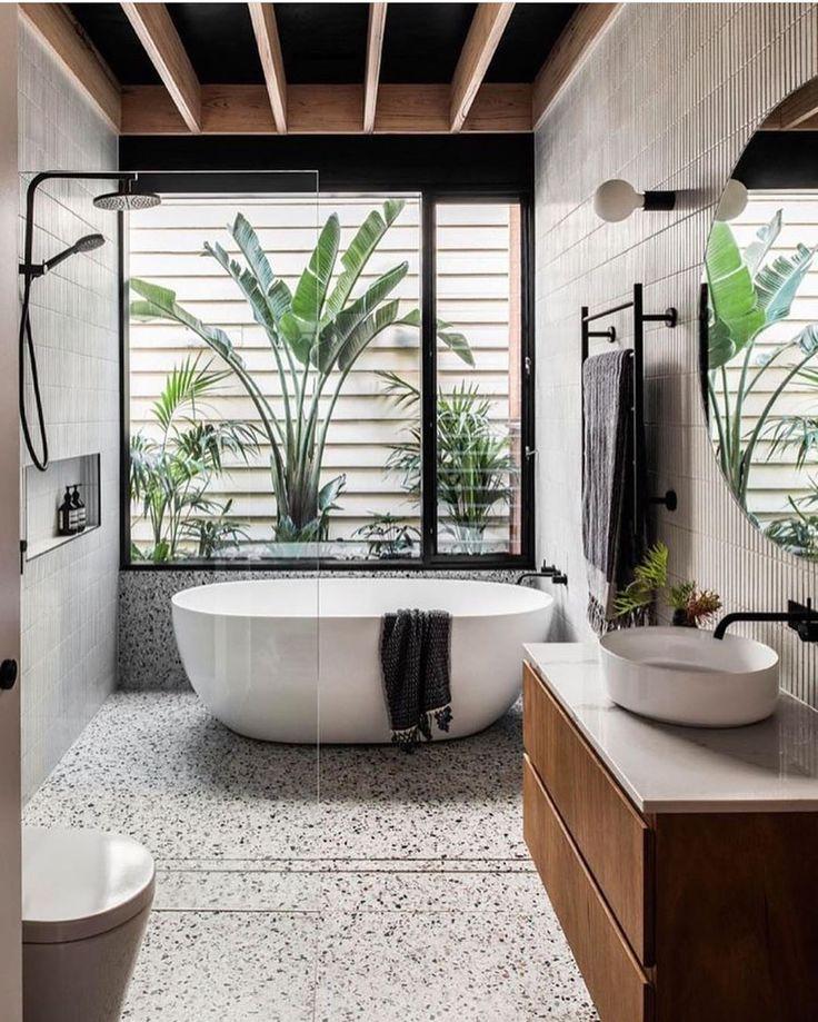Bathroom inspo  • • Don't miss all the FAB inspiration shared at  TURN ON NOTIFI… – Dominik Gogol