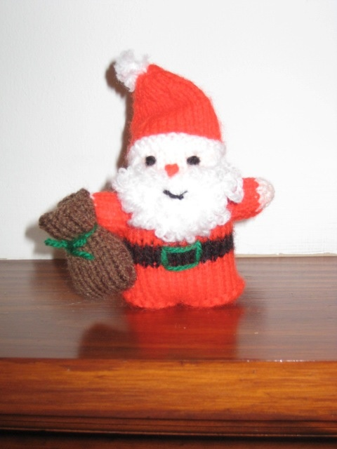 Father Christmas, one of many I have made for friends over the years