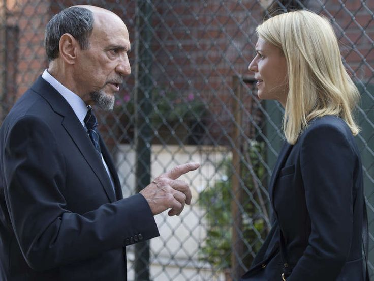 F. Murray Abraham and Claire Danes in Homeland Season 6 (5)