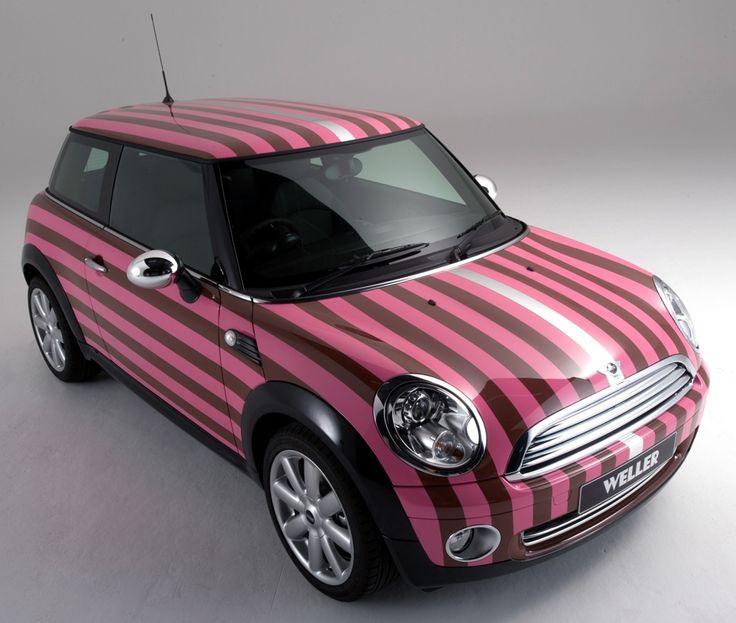 Pink Striped Mini