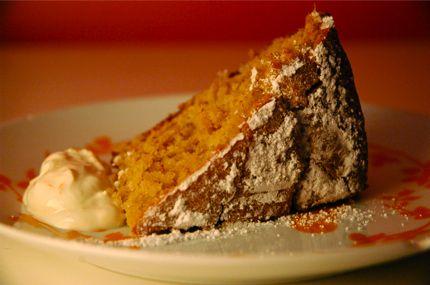Orange Walnut Cake with Greek Yogurt   food   Pinterest