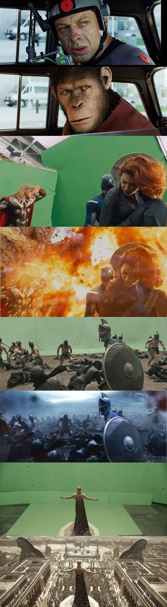 Best Special Effects Ideas On Pinterest Special Effects - 27 incredible before and after shots of visual effects in film