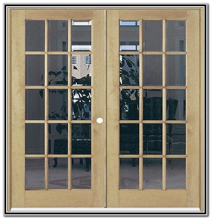 72 x 80 Interior French Door