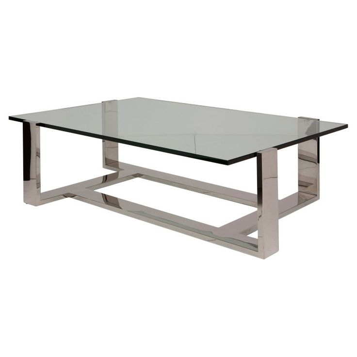 Nuevo Flynn Rectangle Glass Top Coffee Table - HGTA990 - 25+ Best Ideas About Glass Top Coffee Table On Pinterest Wood