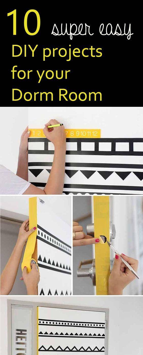 10 Incredibly Easy Dorm DIY Ideas To Brighten Up Your Room