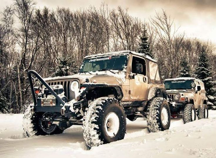 Throwback to his and hers wheeling. Hopefully have the ol' 'Ship out of dry dock by Summer!! ☠☠☠ #thepirateship #thelovemachine #jeep #hisandhers #40s #rockkrawler #warn #rcvperformance #iroks #coilovers #twinsticks #doubler #crawler #boatsides #jeeptj #fukengruven #springhillns #novascotia #piratejeepproductions #youtube #pirateoffroadnation #keeptothecode #peaceloveandpiracy #arrrgh ☠☠☠