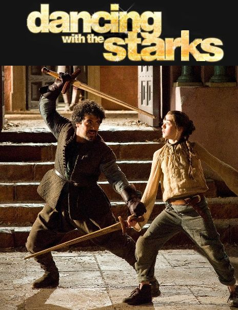 Dancing with the stars would be way more interesting if it incorporated more brutal stabbings like GoT