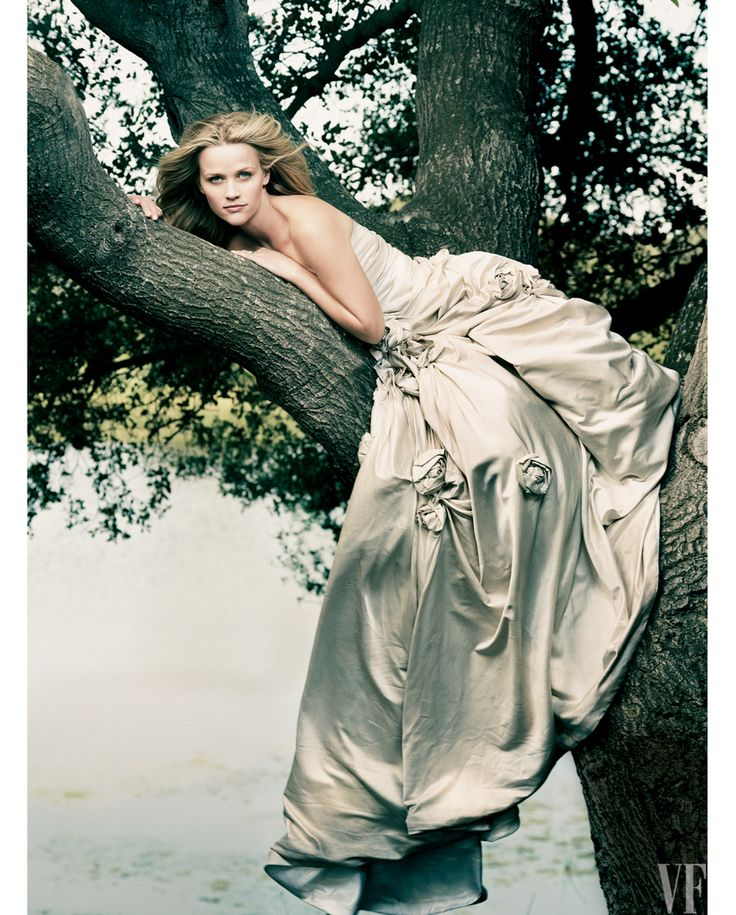 Happy 40th birthday to Reese Witherspoon. Photograph by Annie Leibovitz.