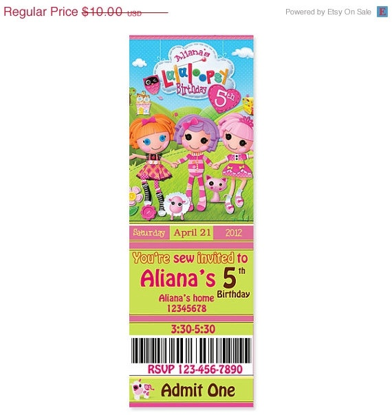 17 Best Images About Lalaloopsy Birthday Party On