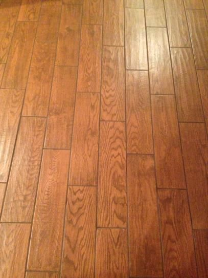 Marazzi Montagna Gunstock Floor Tile With sable grout. for ...