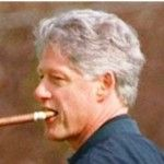 'Dead broke' Bill Clinton enjoying $1,000 cigars — but it's not the first time