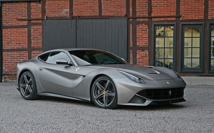 2013 Ferrari F12berlinetta Titanium Matte Metallic by Cam Shaft