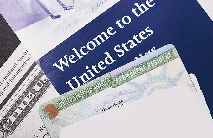 Grounds for getting a green card include having family members in the U.S., being a certain type of refugee or specialized worker, or winning a lottery.