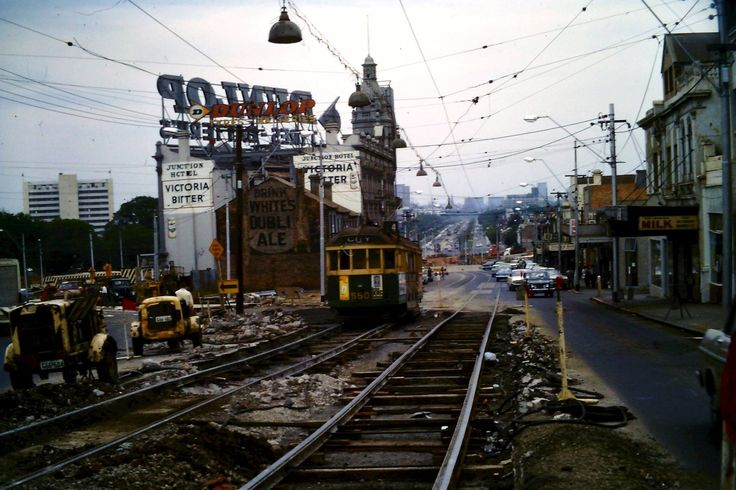 St.Kilda Junction 1968, Photo by Arthur Stone
