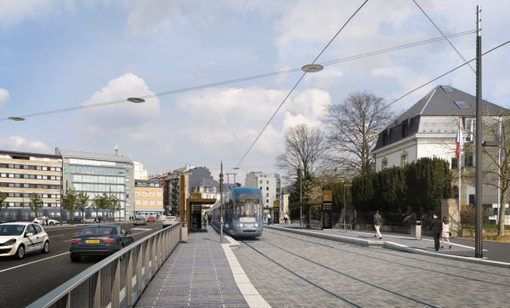 L'efficacité du #tram remise en question au #Luxembourg