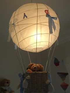 IKEA Hackers: Air balloon ceiling light for less than 10,00 Euro - Very clever