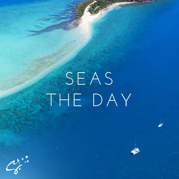 A motto to live by ;). #CharterYachtsAustralia #LoveWhitsundays #thisisqueensland #sailing