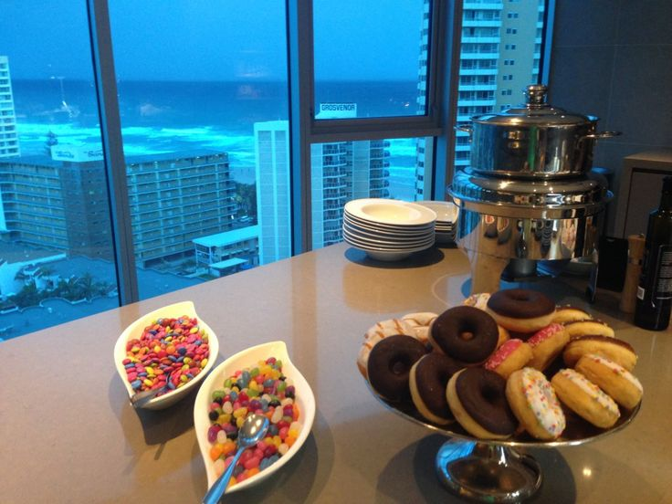 Executive Lounge at the Hilton Surfers Paradise Hotel and Residences on the Gold Coast, Australia