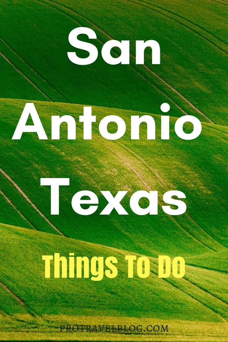 Useful list of things to do in San Antonio for your trip.