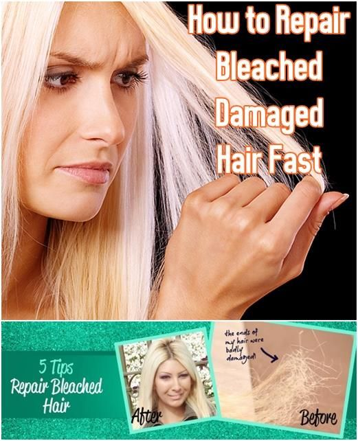 How to Repair Damaged Hair Fast