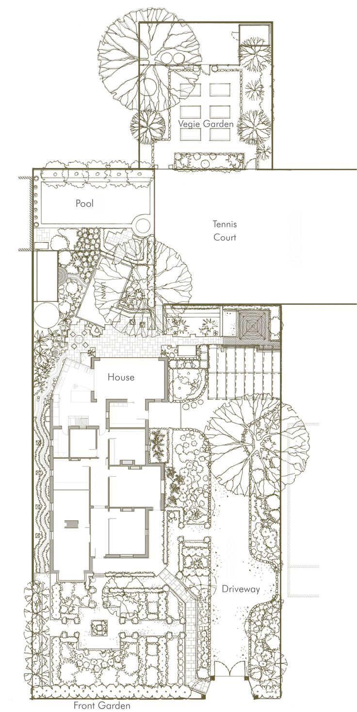 Design for unley park residence south australia hand for Landscape architects in adelaide