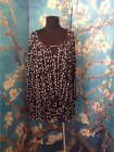 ☼Ð #NOTATIONS PLUS 3X NEW BLACK/IVORY DOTS KNOTTED #FRONT 3/4 SLEEVE TUNIC #TOP http://ebay.to/2gwtbI9
