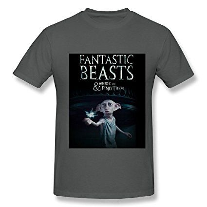 Fantastic Beasts And Where To Find Them Poster Man Soft Tees DeepHeather