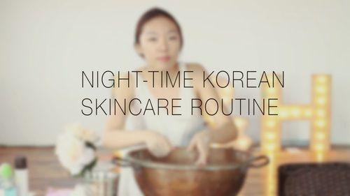 My Korean Night Skincare Routine —