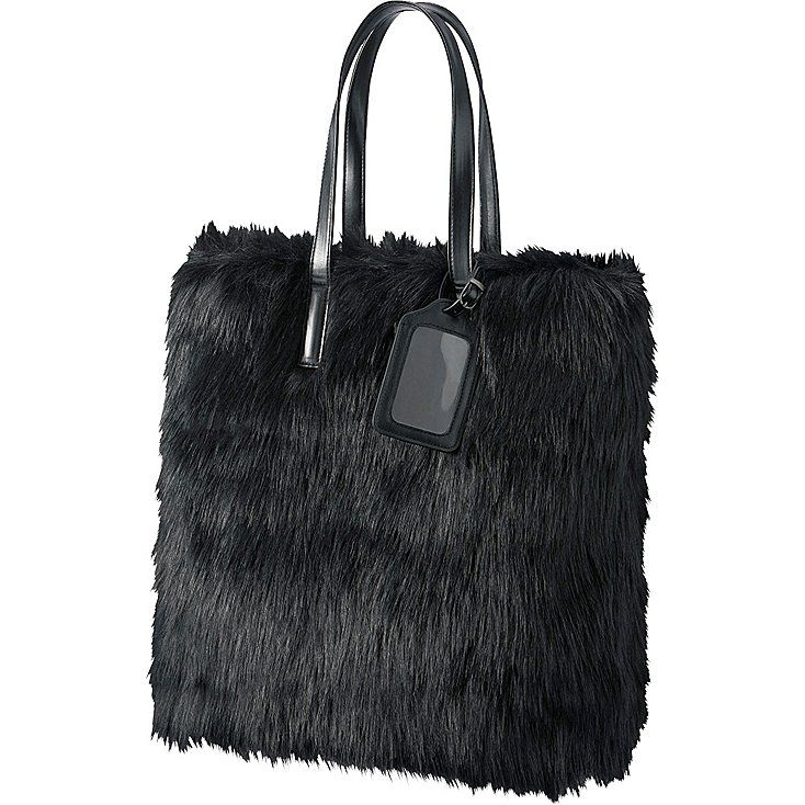 WOMEN CARINE FAUX SHEARLING TOTE BAG | UNIQLO