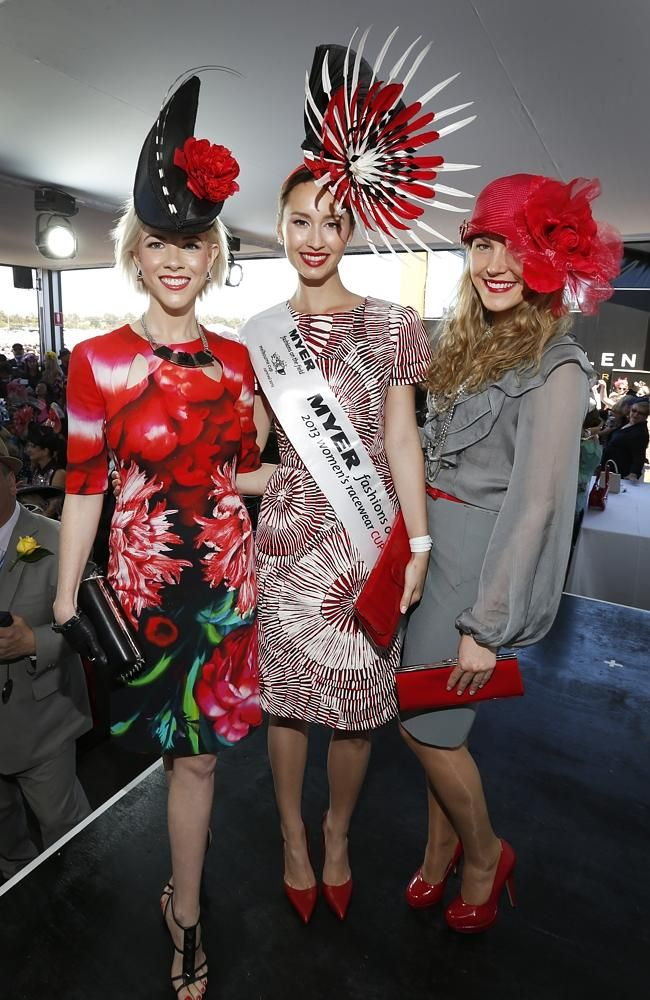 melbourne cup Myer fashion winner 2013 northern territory dress - Bing Images