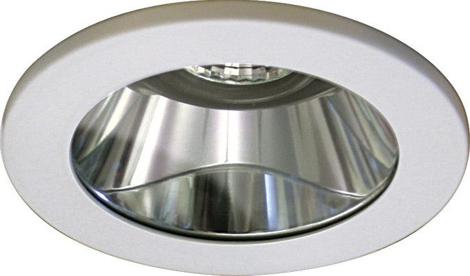 Wet location listed glass dome trim. Typical applications include bathrooms, sauna's, workrooms and patios. For use with HR-8400 series low voltage housings. Features - Shower light with drop dish gla