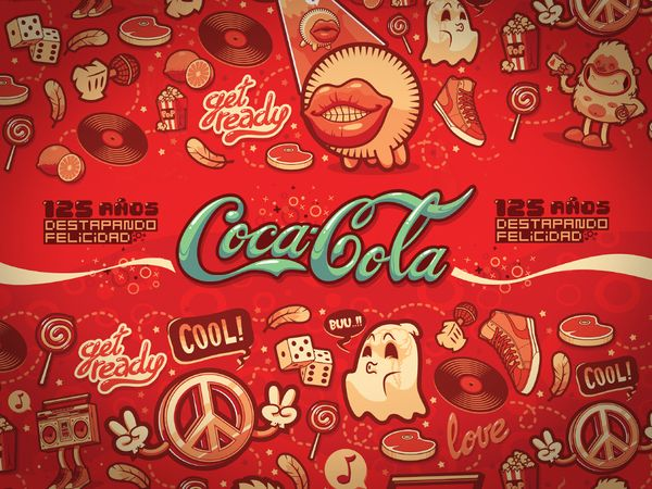 As Artes inspiradas pela Coca-Cola