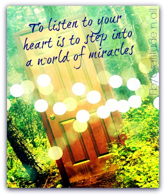 Listen To Your Heart Quotes: 17 Best Images About Listen To Your Heart