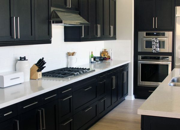 choosing modern cabinet hardware for a new house kitchen