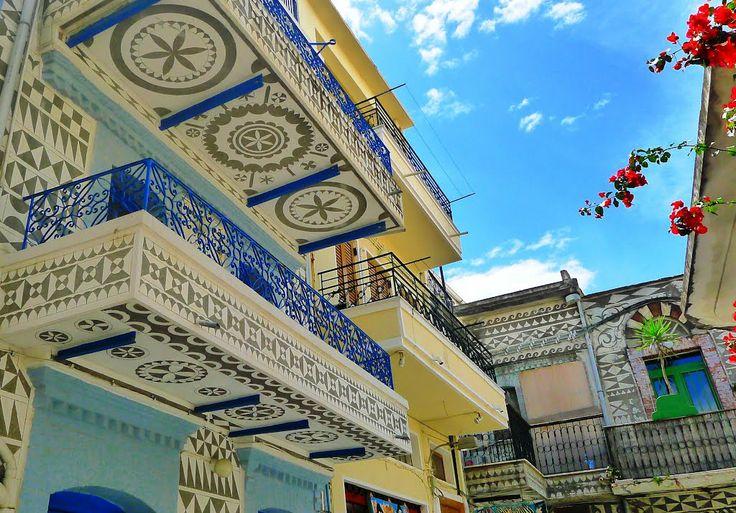 GREECE CHANNEL   Pirgi, #Chios #island, #Greece http://www.greece-channel.com/
