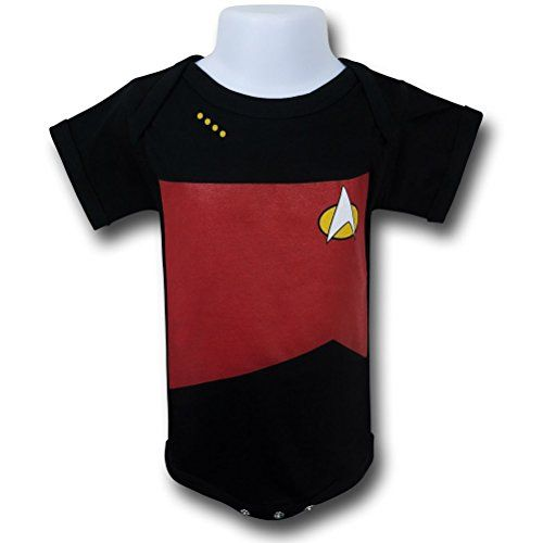 Star Trek Next Generation Command Infant Snapsuit- Infant 6-12 Months @ niftywarehouse.com #NiftyWarehouse #StarTrek #Trekkie #Geek #Nerd #Products