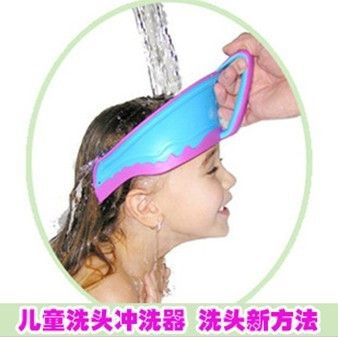 2015 Real Hot Sale Pe 001 Hats Shampoo Cabelo Profissional Baby Shower Cap Child Washer