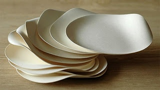 Diana's choice. Disposable plates... if orchard did disposable plates they could look like this?
