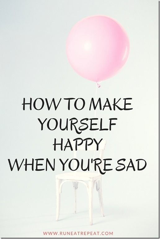 how to make yourself happy when depressed