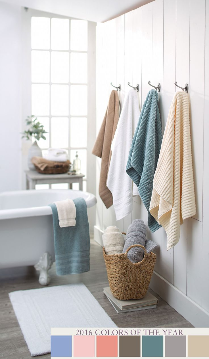 Create A Gorgeous Bathroom By Simply Adding Simple Touches Update Your Home With Biltmore Towels