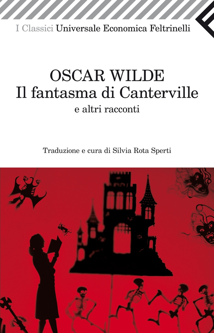 """Oscar Wilde, """"Il fantasma di Canterville. E altri racconti"""". Un ricco ministro americano, Hiram B. Otis, si trasferisce in Inghilterra e sceglie di abitare nell'antico castello di Canterville. Non si fa certo impressionare dalla leggenda che vuole il castello infestato dal fantasma dell'antico proprietario… Un capolavoro della letteratura fantastica di tutti i tempi."""