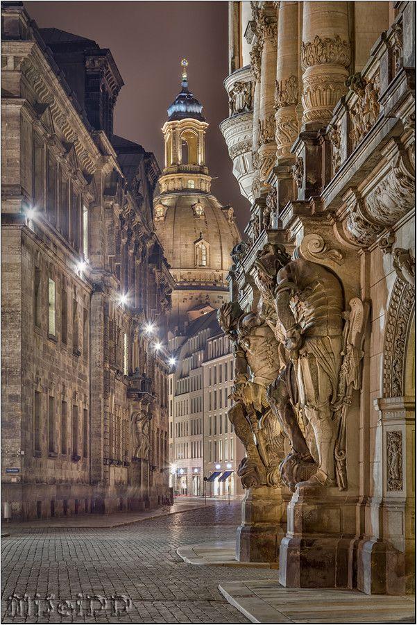 Blick zur Frauenkirche by Mirko Seidel on 500px #Dresden #Germany