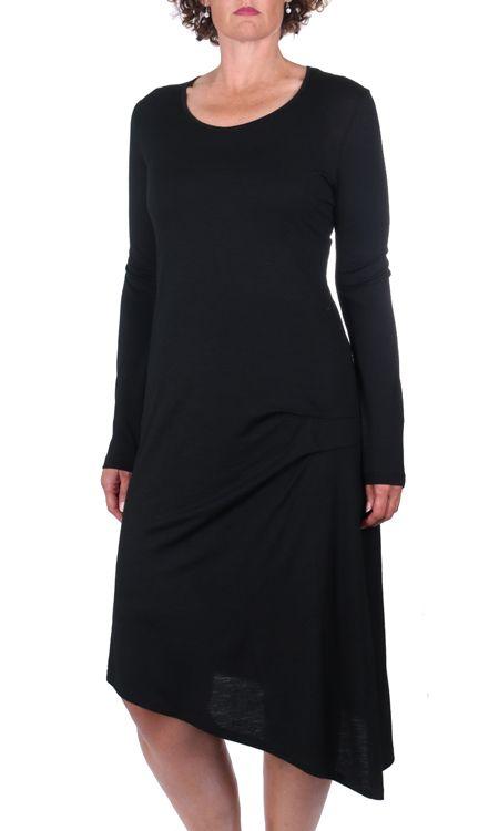 Merino Tuck Dress