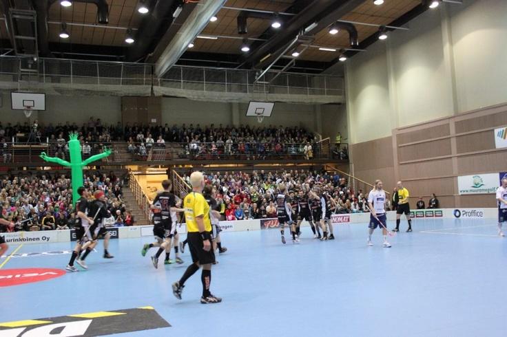 Monitoimitalo. Capacity 1100 spectators.