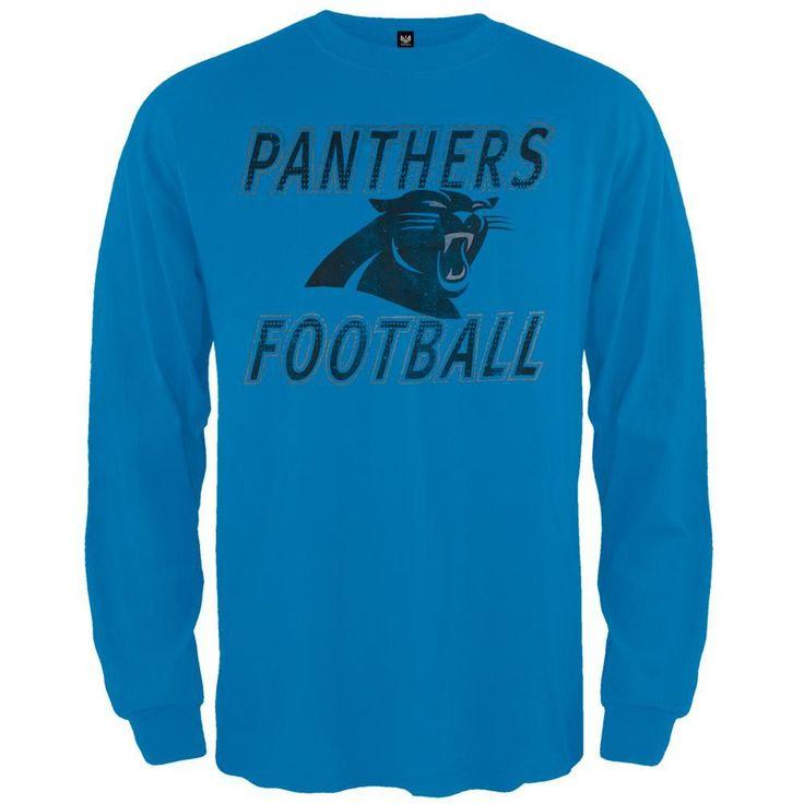 Carolina Panthers - Flanker Logo Premium Long Sleeve T-Shirt