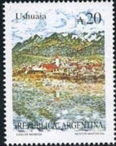 Sello: Ushuaia (Argentina) (Tourism) Mi:AR 1943,Sn:AR 1635B,Yt:AR 1648